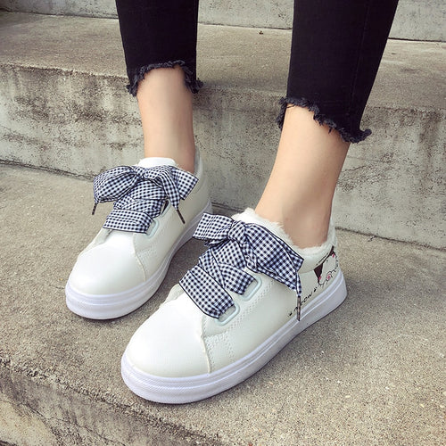 Wide-Lace Sneakers - Dash Couture