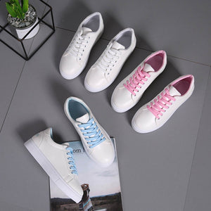 Cartoon Embroidered Sneakers - Dash Couture