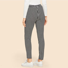 Houndstooth Tied Pants - Dash Couture