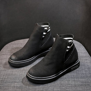 Slip-on Ankle Boots - Dash Couture