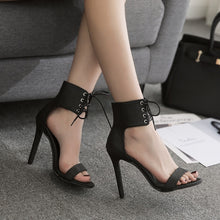 Ankle-Laced Stilettos - Dash Couture