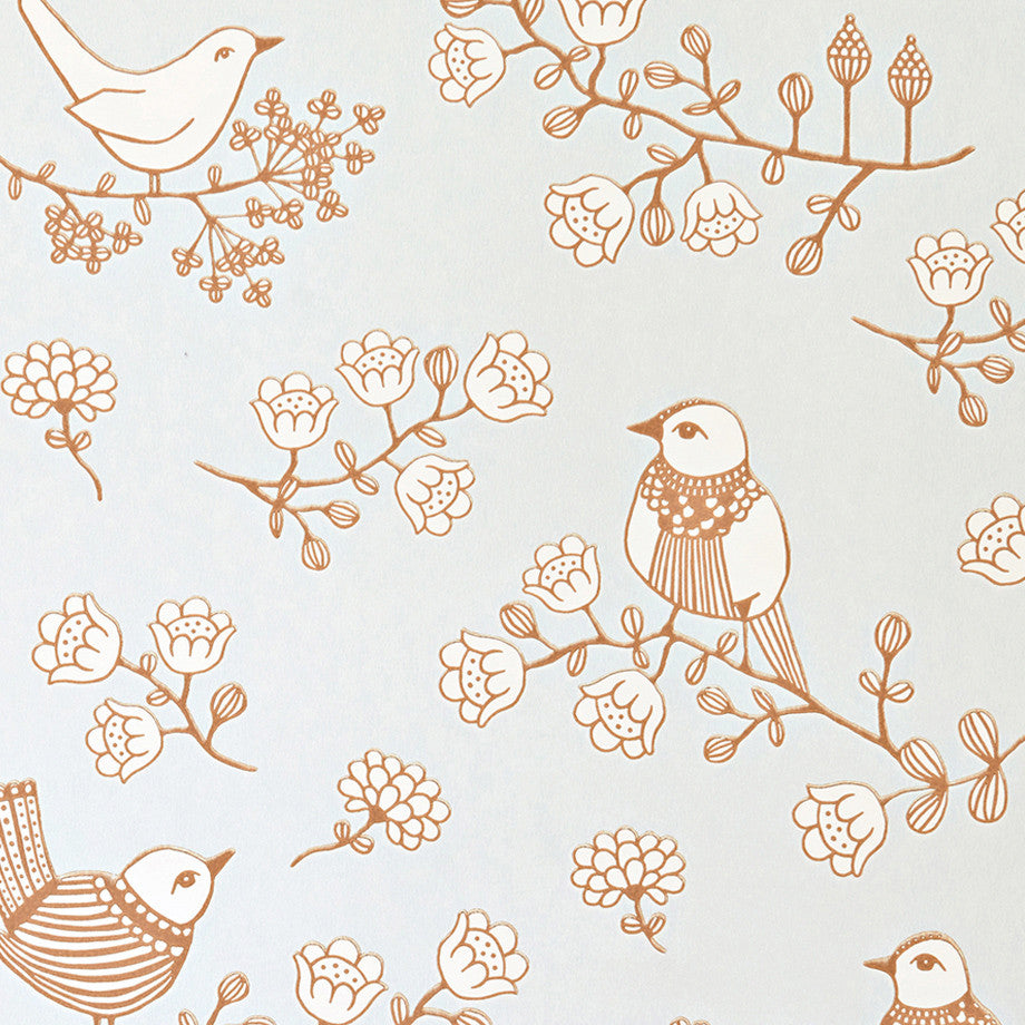 Majvillan Wallpaper in Australia | Sugar Tree in Grey
