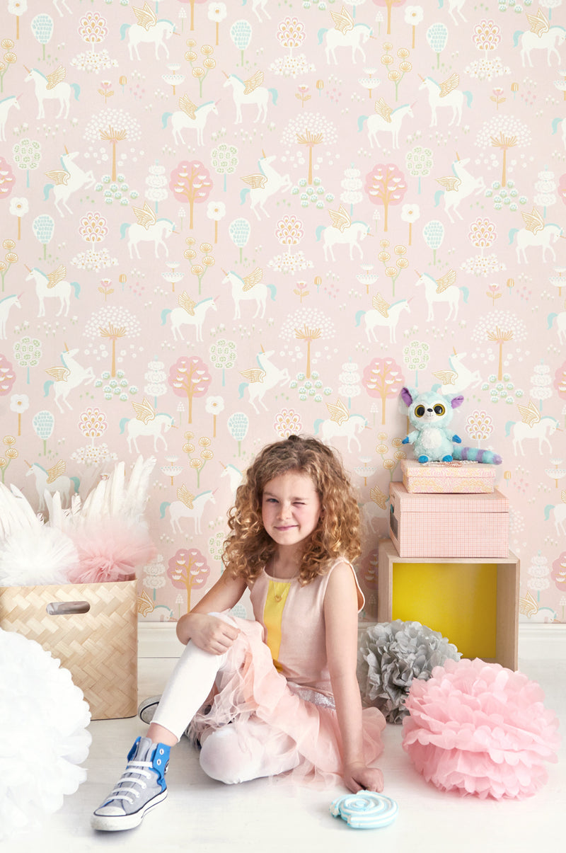 True Unicorns Wallpaper | Majvillan Kids Wallpaper