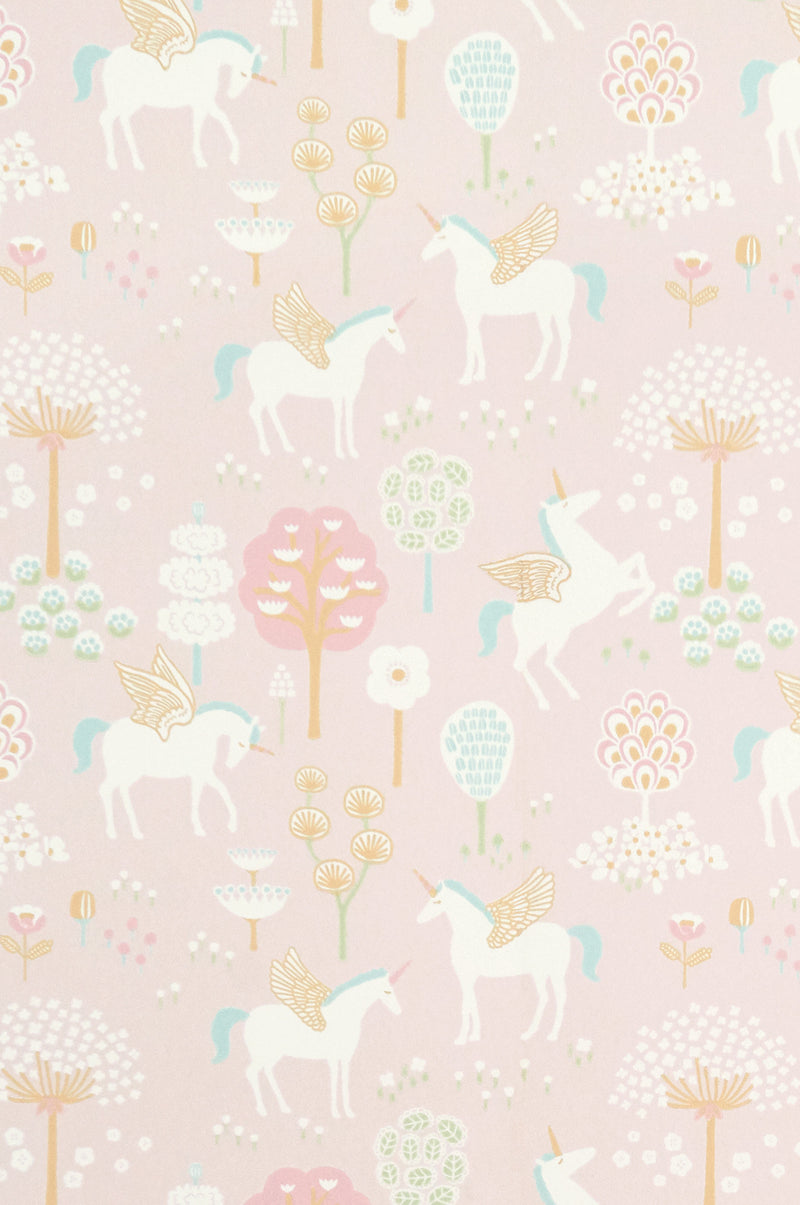 Majvillan Wallpaper | True Unicorns in Pink
