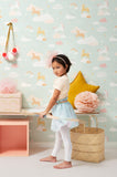 Unicorns Wallpaper for kids rooms