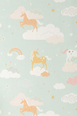 Unicorns & Rainbows Wallpaper
