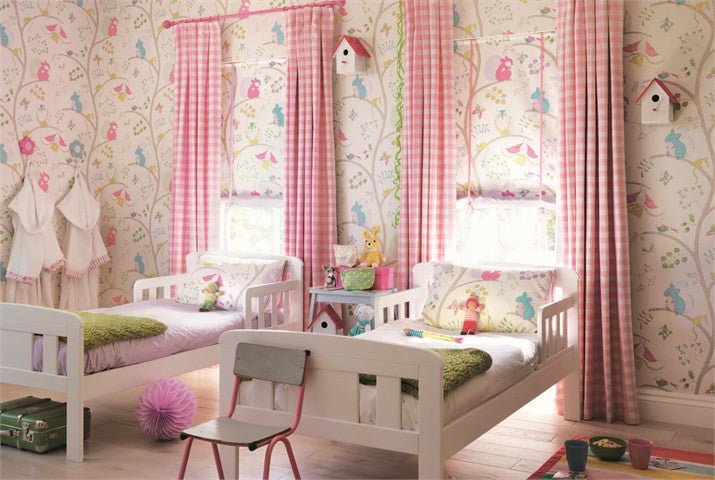 Little Sanderson Bedroom | Going Batty Wallpaper 214017