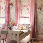 Going Batty Wallpaper in a Little Girls room | Little Sanderson