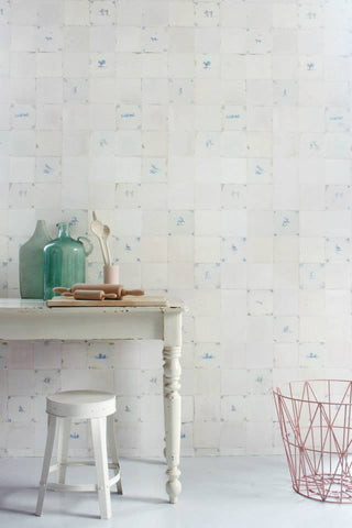 Studio Ditte Wallpaper | Scrapwood White
