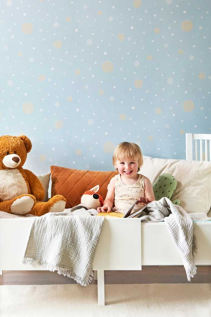 Nursery Wallpaper by Majvillian at Just Kids Wallpaper