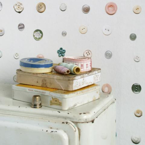 Studio Ditte Button Wallpaper from Just Kids Wallpaper