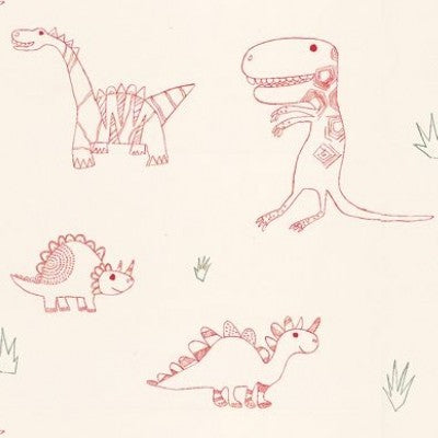 Harlequin Jolly Jurassic  Wallpaper 70525, childrens wallpaper at Just Kids Wallpaper