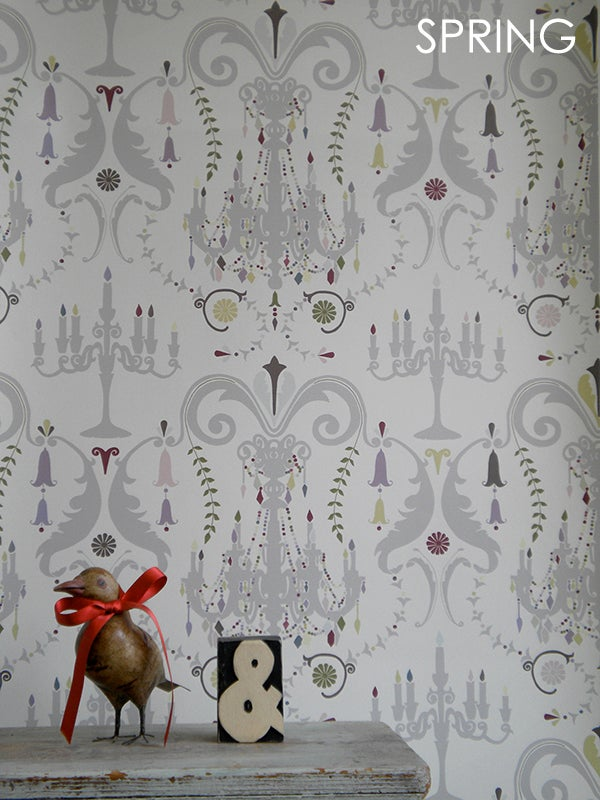 YSD LONDON Manor House Wallpaper