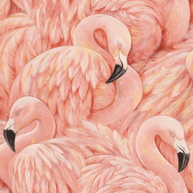 Pink Flamingos Wallpaper |