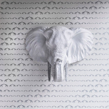 Baby Elephant Walk Wallpaper by Sissy & Marley