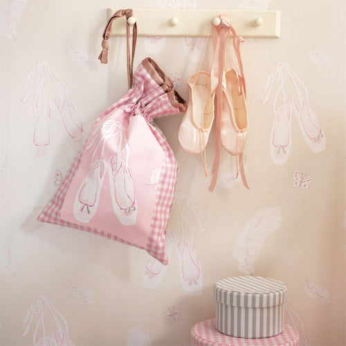 Ballet Shoes Wallpaper | Little Sanderson | Just Kids Wallpaper