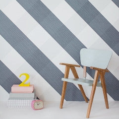 Bartsch Wallpaper Lovely Gingham in Black/Blue