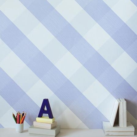 Lovely Gingham Wallpaper By Bartsch in Mauve