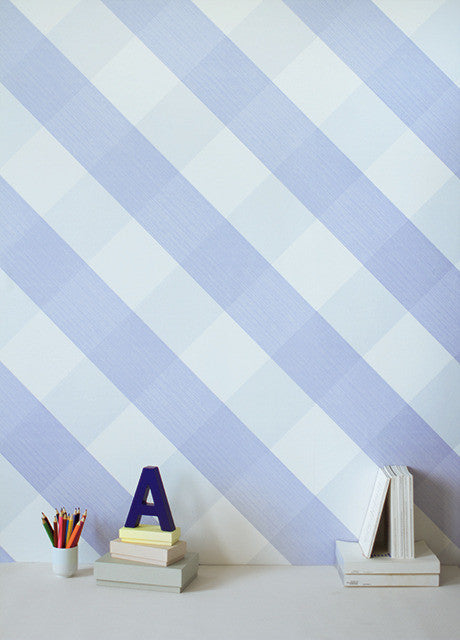 Bartsch Wallpaper, Lovely Gingham in Mauve