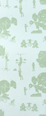 PaperBoy Wallpaper Brave New World Kids Wallpaper