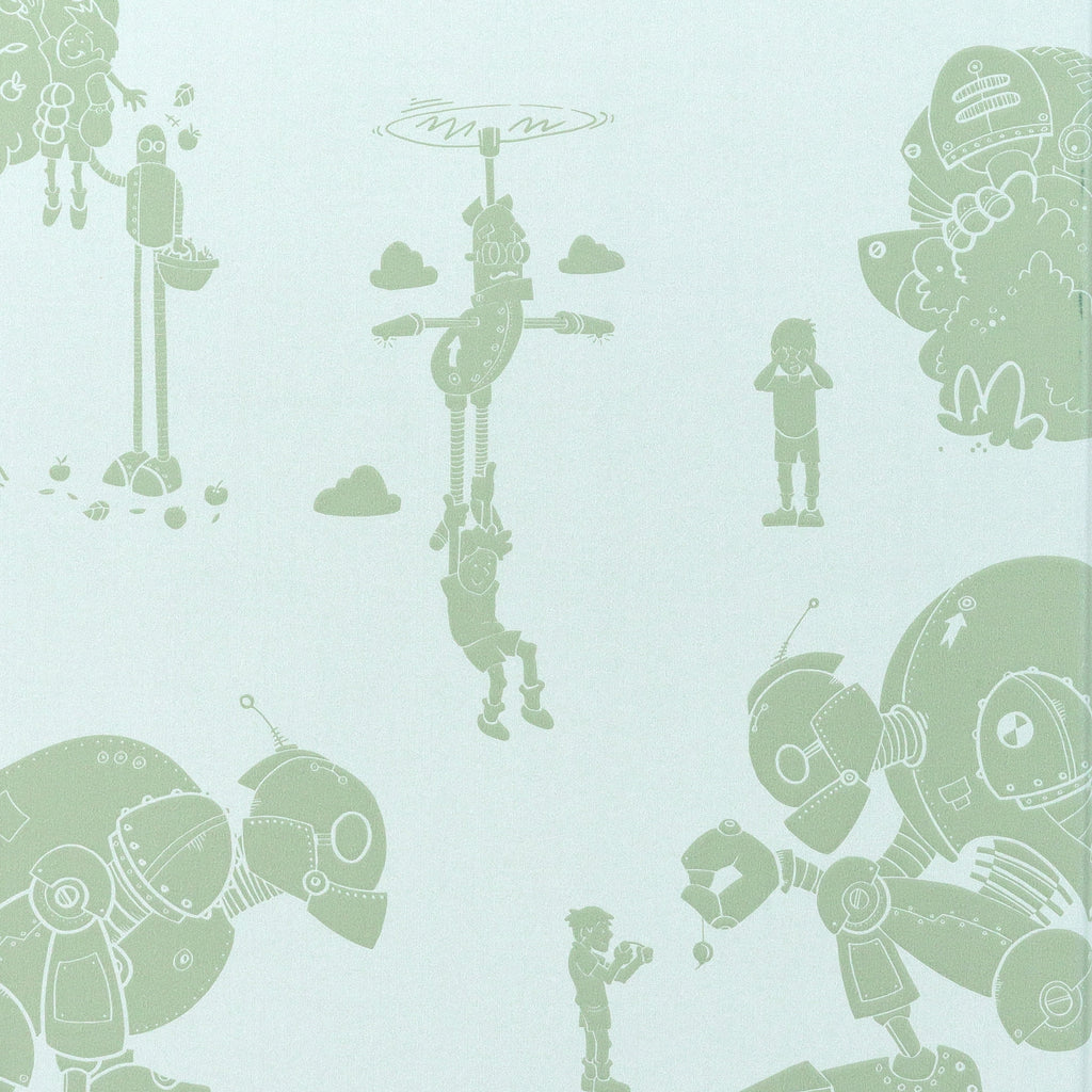 PaperBoy Brave New World Wallpaper in Lichen