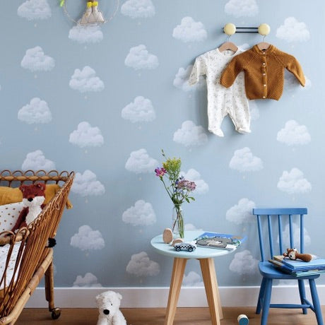 Bartsch Cotton Clouds Wallpaper