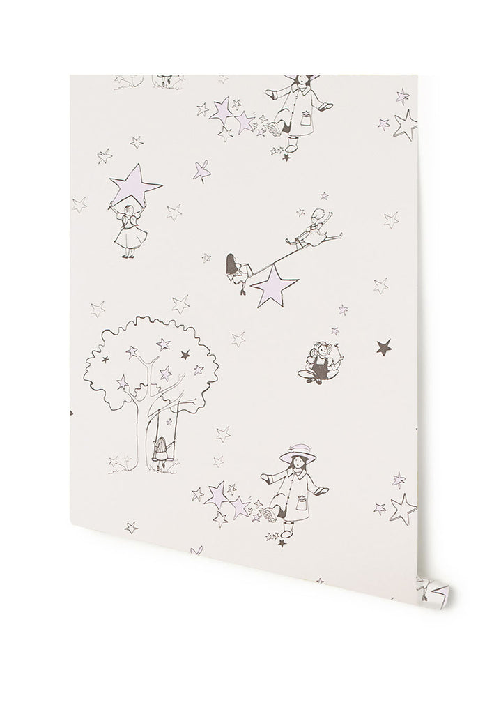 Girls Nursery Wallpaper. Buy online in Australia Catch A Star Wallpaper