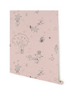 Nursery Wallpaper for Girls. Katie Bourne Interiors Wallpaper.