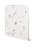Girls Wallpaper or great for a Nursery. Catch A Star Wallpaper in Pink on Pink