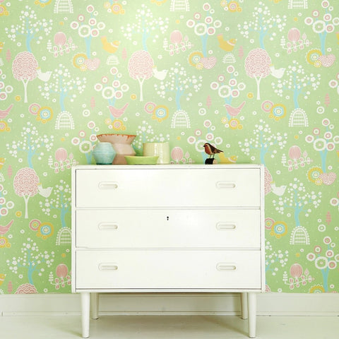 Pink Flamingos Wallpaper On Sale