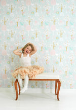 Cherry Valley Wallpaper in Grey 102-04