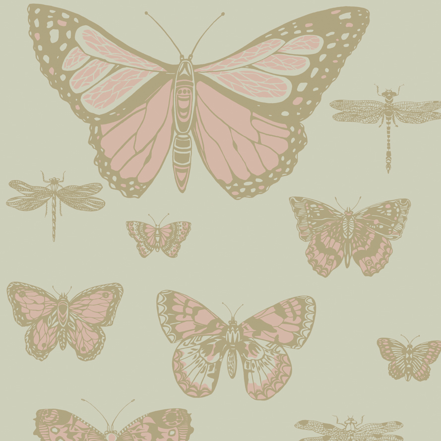 Butterflies & Dragonflies Wallpaper | Cole & Son | Whimsical
