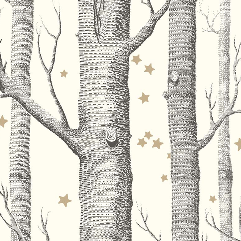 PaperBoy Wallpaper | 'Animal Magic' Gray & Black