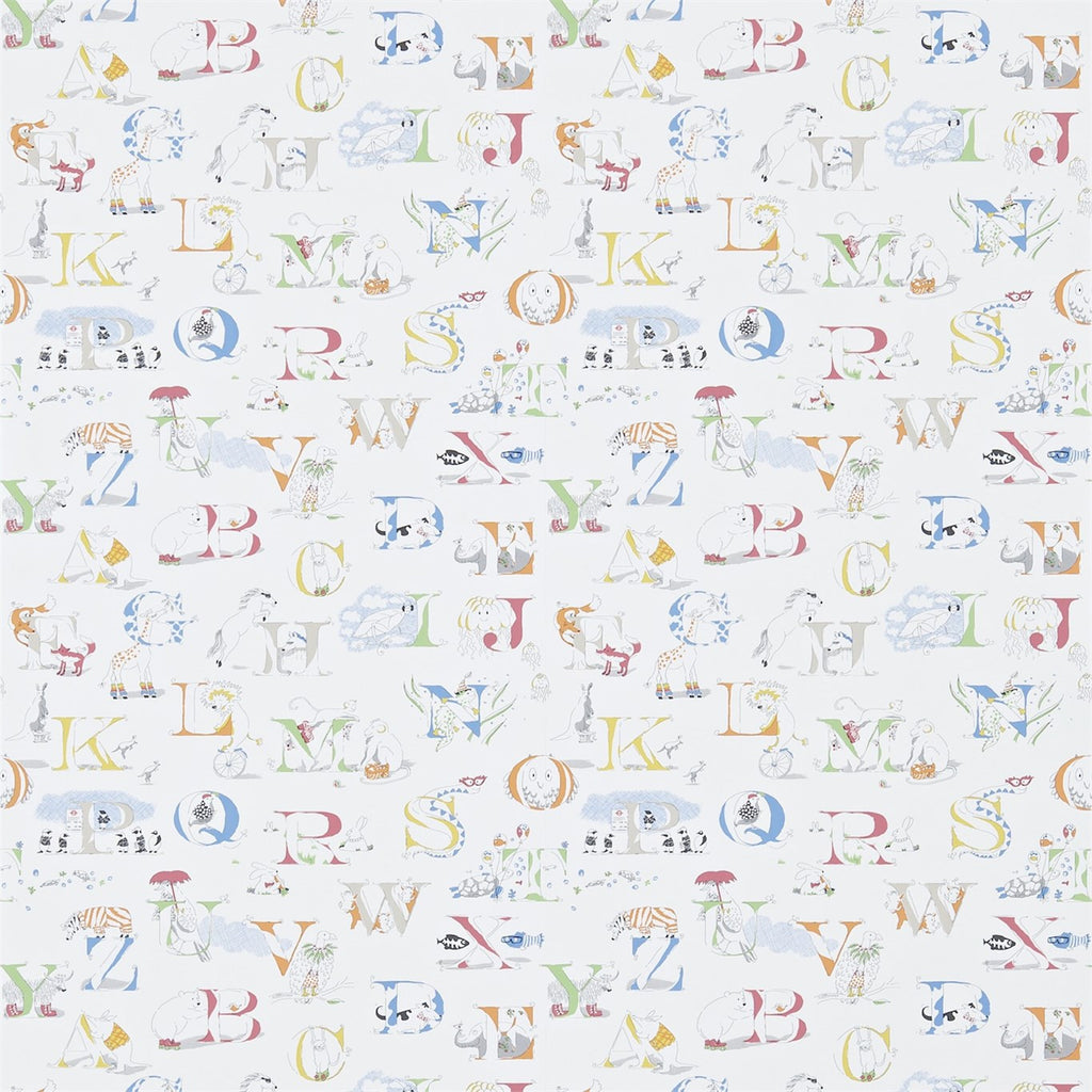Little Sanderson Wallpaper | Alphabet Zoo 214026