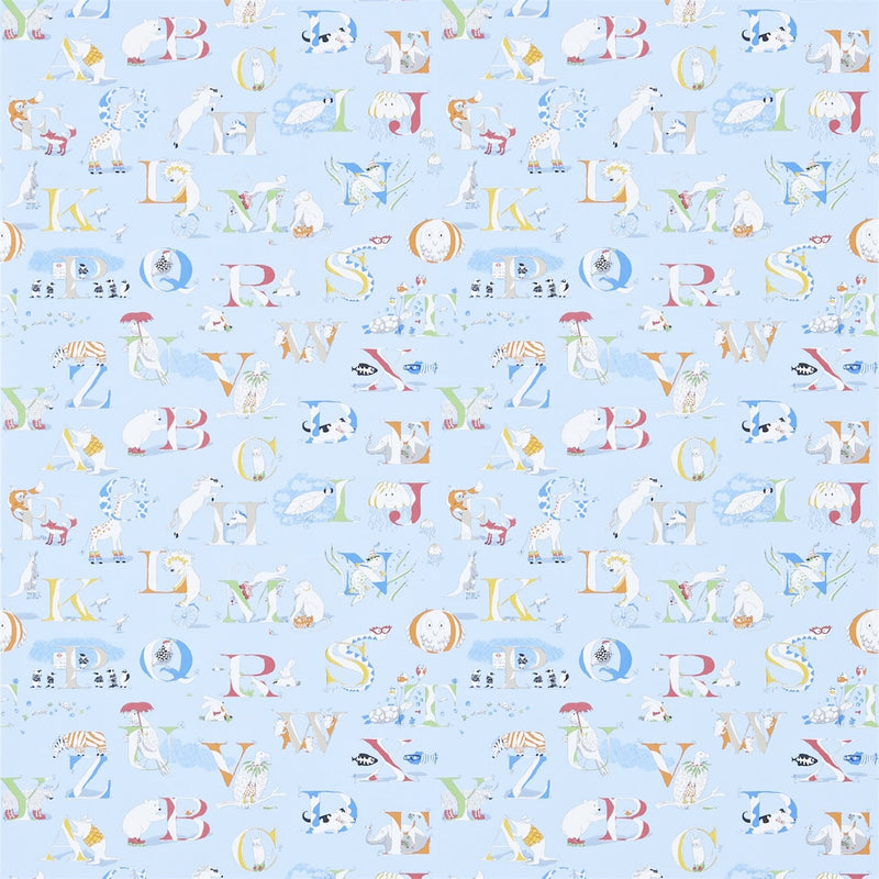 Little Sanderson Wallpaper | Alphabet Zoo 214027