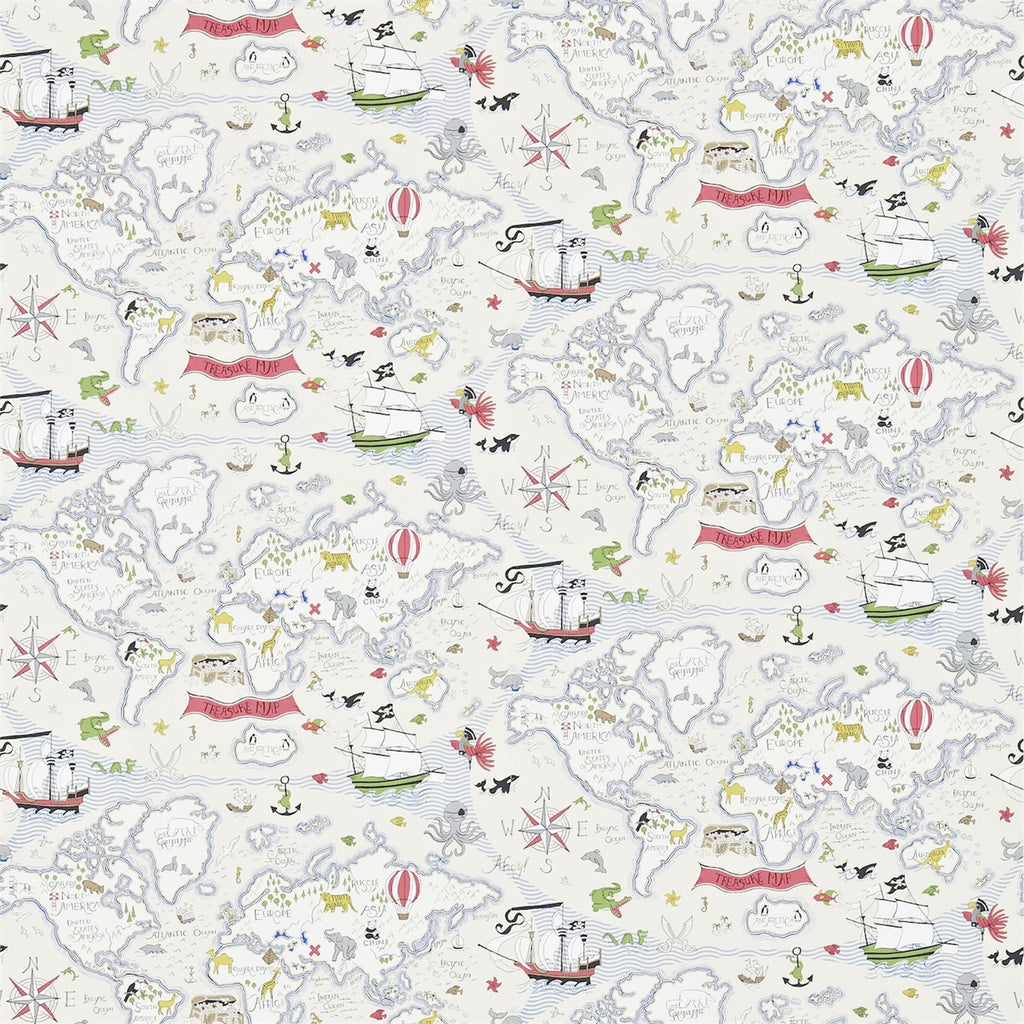 Little Sanderson Treasure Map Wallpaper 214040