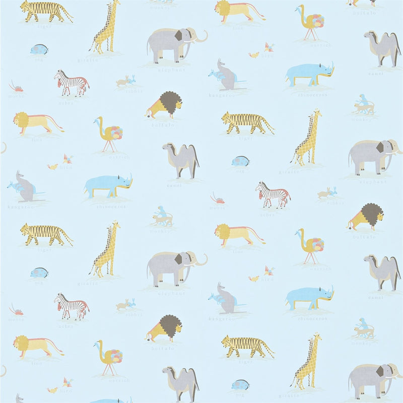 Little Sanderson Wallpaper | Two By Two | Animals