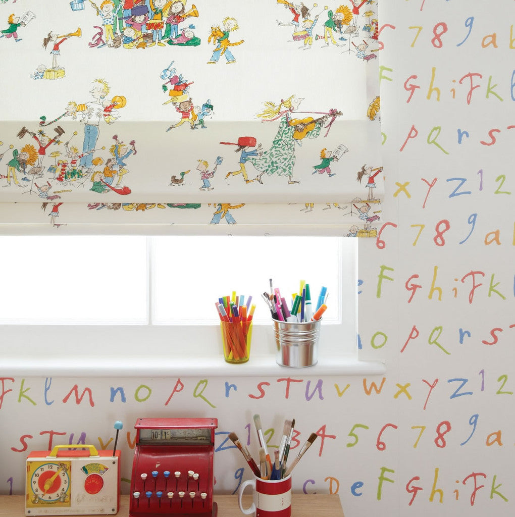 Osborne & Little Wallpaper | Quentin's ABC W6062-01