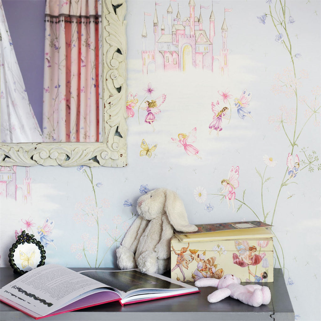 Little Sanderson Wallpaper | Fairy Castle 214045