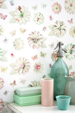Flowers Wallpaper by Studio Ditte