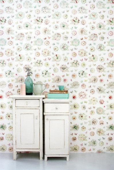 Studio Ditte Flowers Non Woven Wallpaper