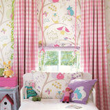 Little Sanderson Wallpaper | Going Batty 214017 Pink & Blue