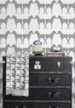 Marley+Malek Kids Wallpaper | Zee in Charcoal