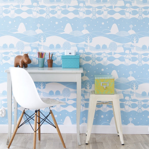 Heaven Seas & Inbetween wallpaper for kids