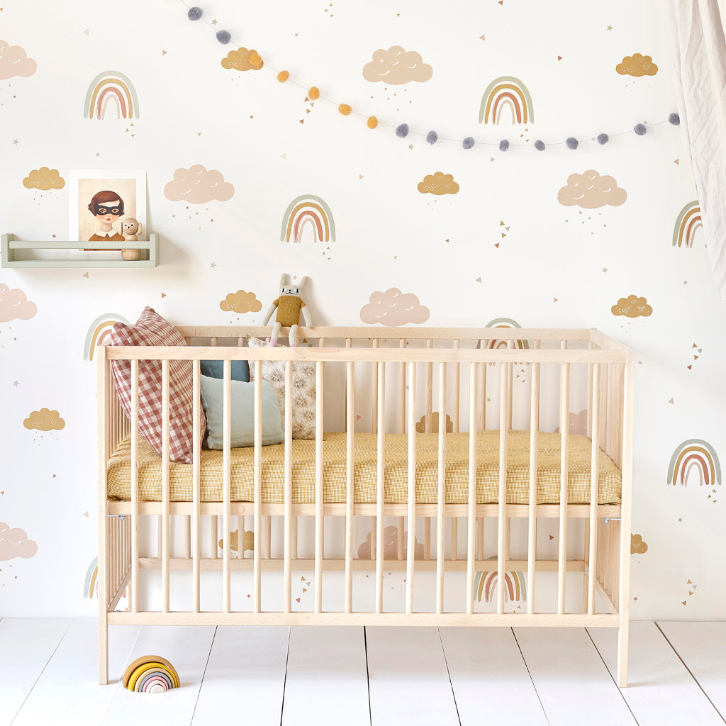 nursery wallpaper | Hibou Home