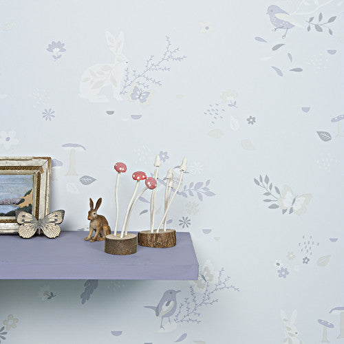 Hibou Home Wallpaper, Secret Garden in Moonbeam