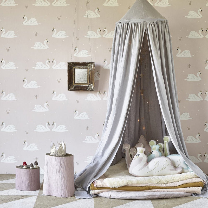 Swans Wallpaper | Hibou Home