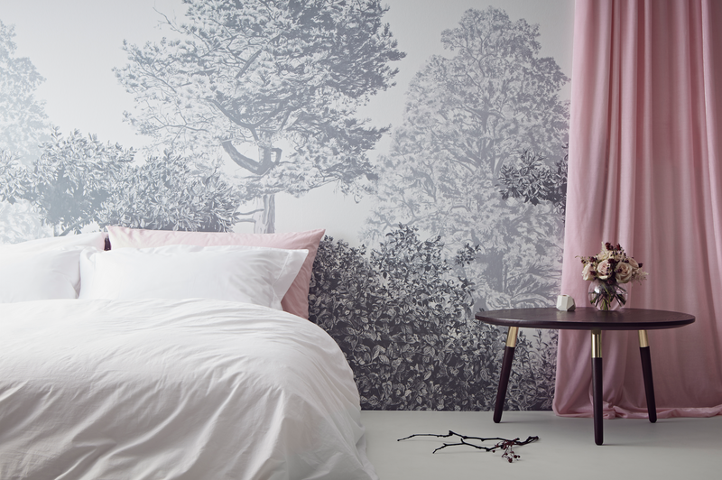 Sian Zeng Hua Trees Wallpaper Mural