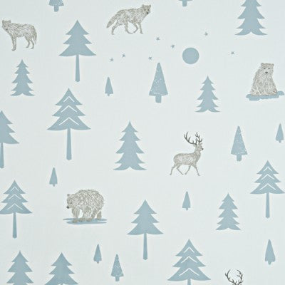 Hibou Home Wallpaper: Into the Wild. Kids Wallpaper