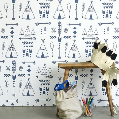 Studio Ditte Wallpaper | Robot